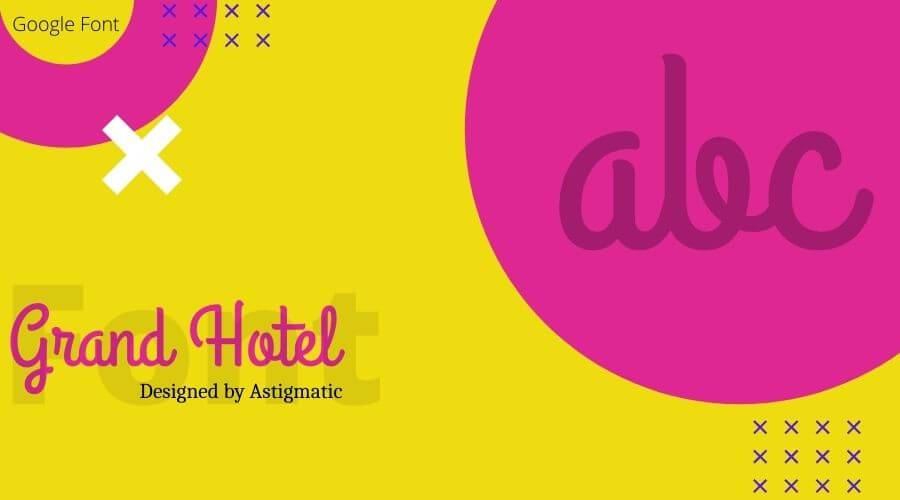 Grand Hotel Font Free Download