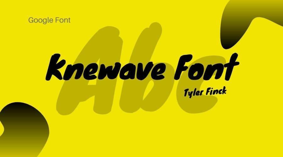 Knewave Font Free Download