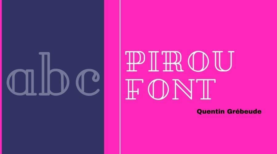 Pirou Font Free Download