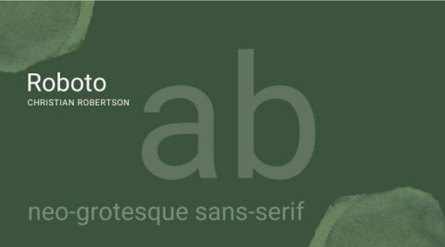 Roboto Font Free Download