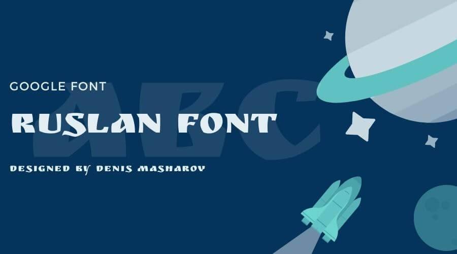 Ruslan Font Free Download