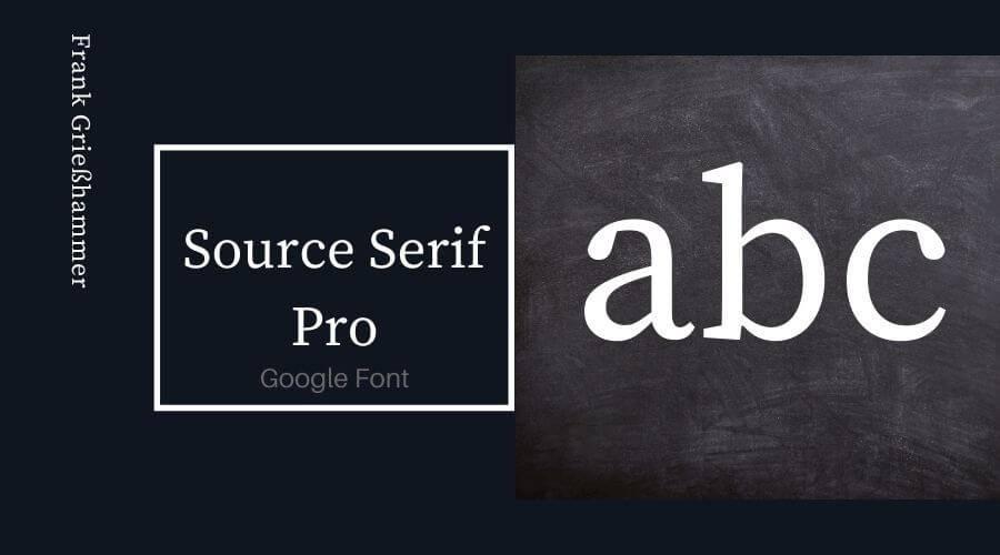 Source Serif Pro Font Free Download