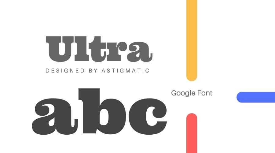 Ultra Font Free Download