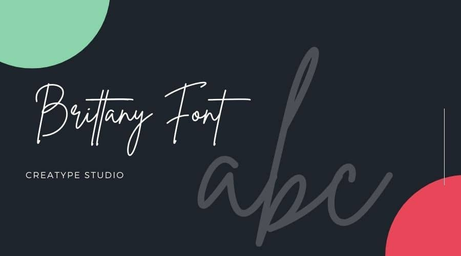 Brittany Font Free Download
