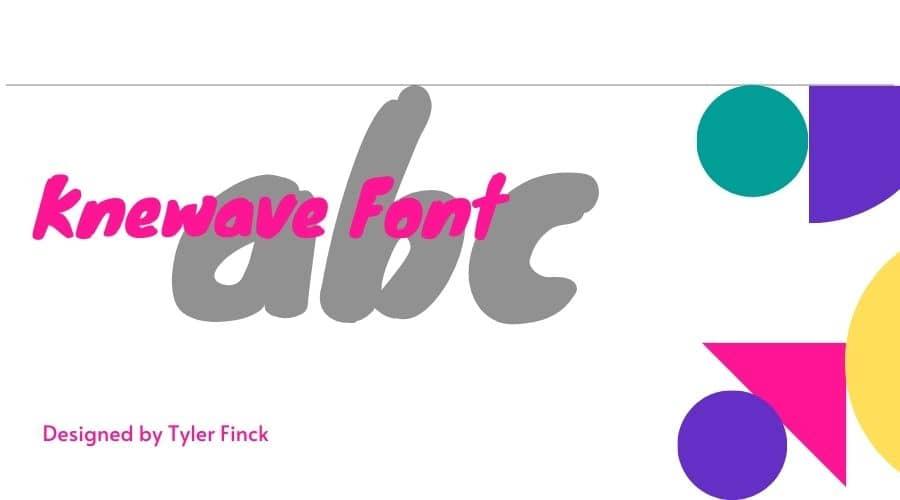 Knewave Font Free Downoad