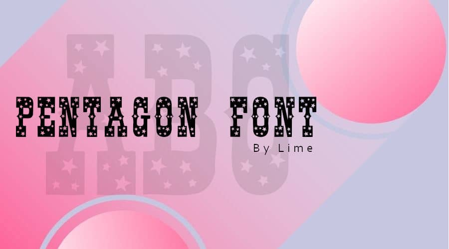 Pentagon Font Free Download
