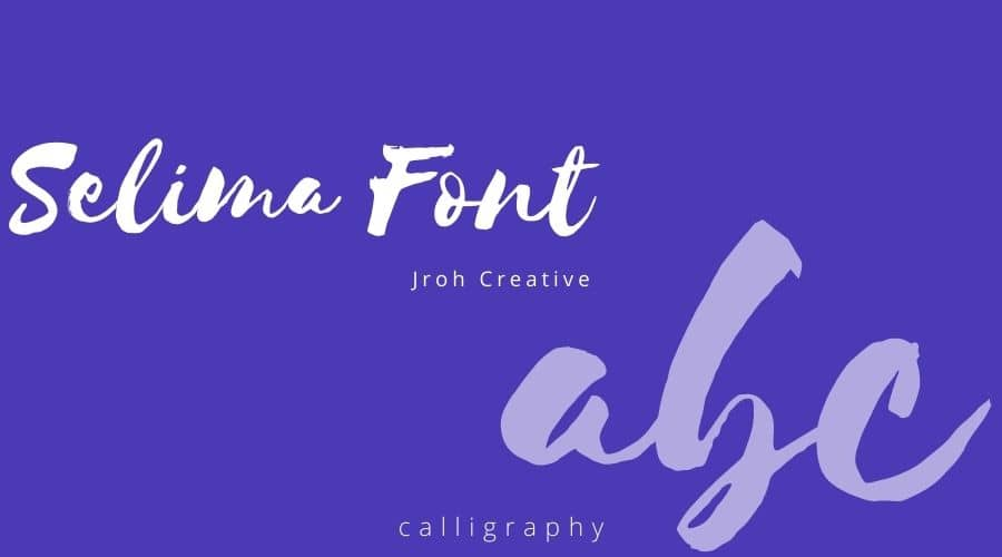 Selima Font Free Download