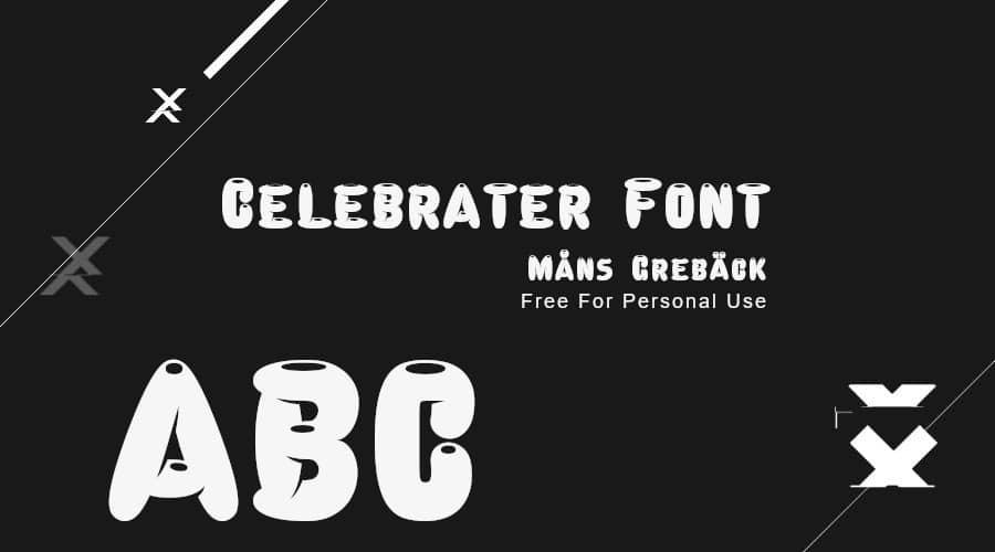Celebrater Font Free Download