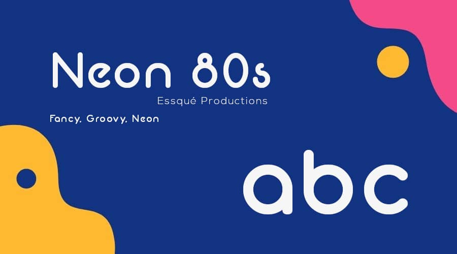 Neon 80s Font Free Download