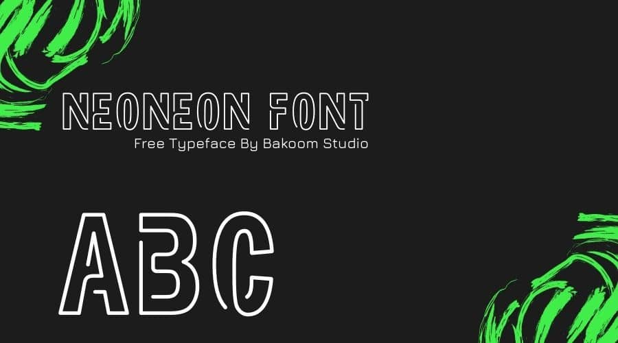 Neoneon Font Free Download