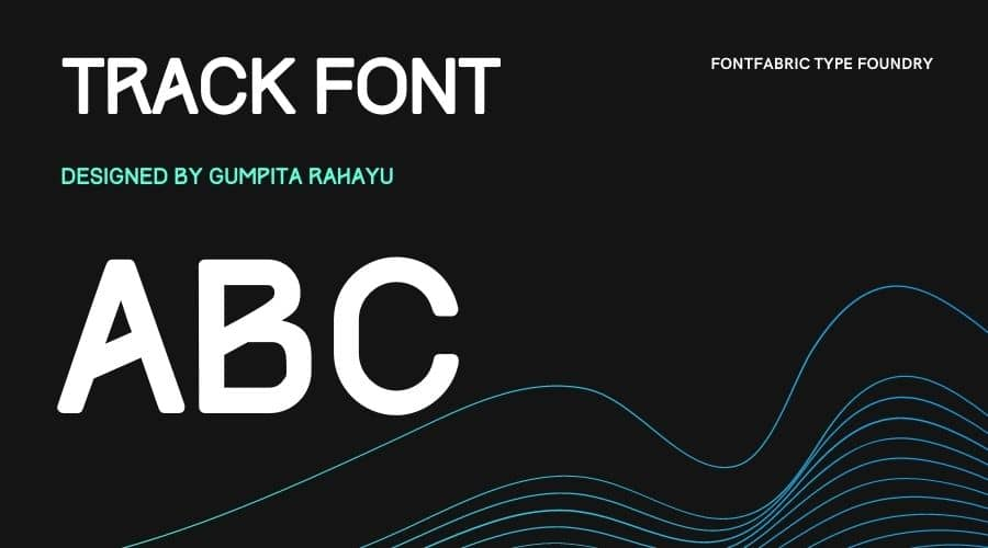 Track Font Free Download