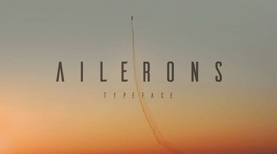 Ailerons-font-free-download