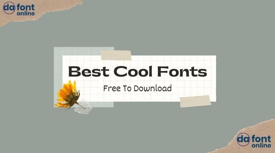 Best Cool Fonts