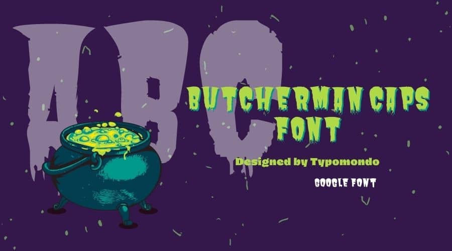 Butcherman Caps Font Free Download