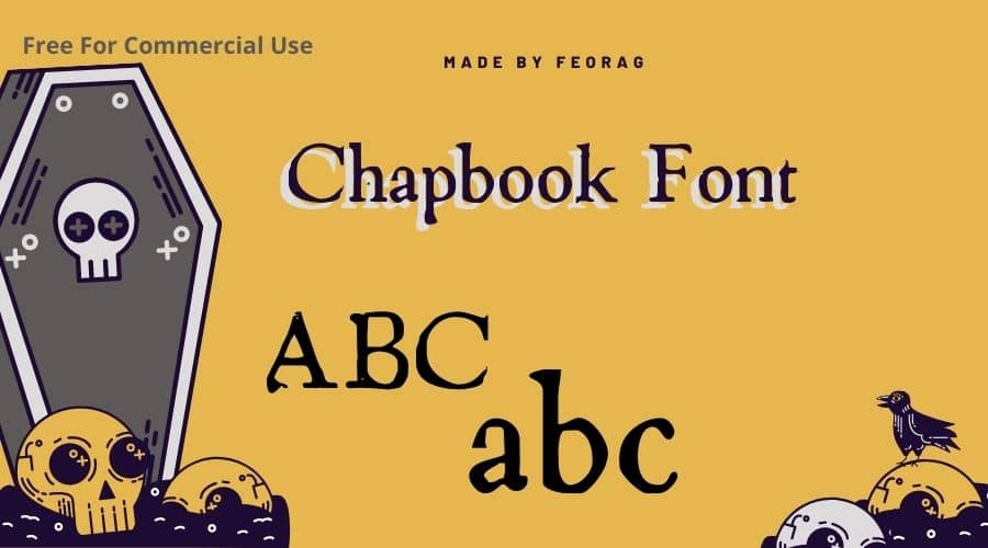 Chapbook Font Free Download