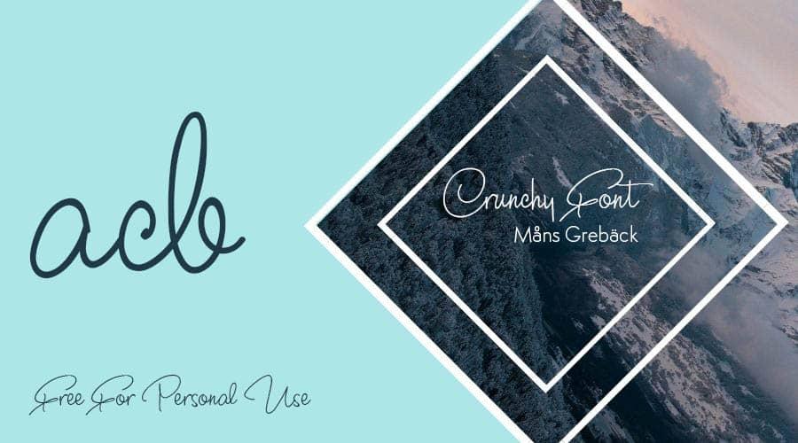 Crunchy Font Free Download
