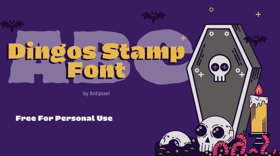Dingos-Stamp-Font-Free-Download