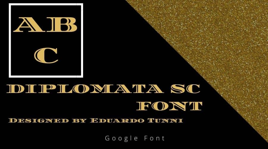 Diplomata SC Font Free Download