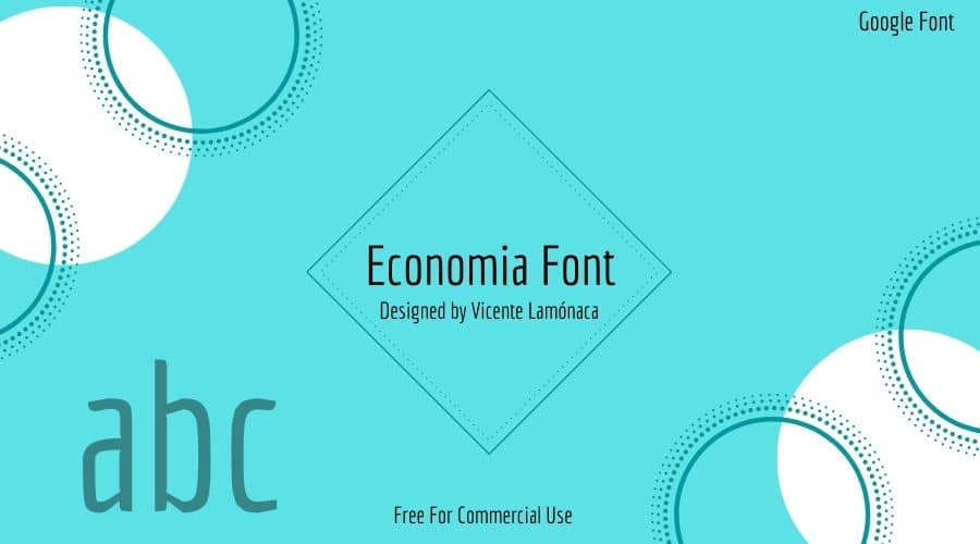 Economia Font Free Download