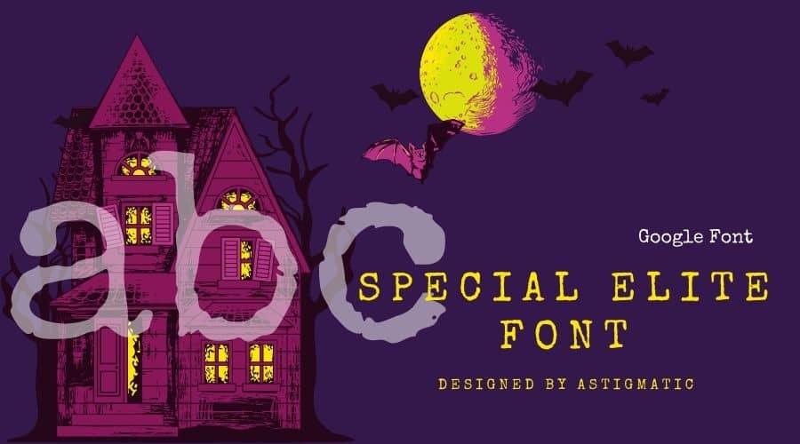 Special Elite Font Free Download